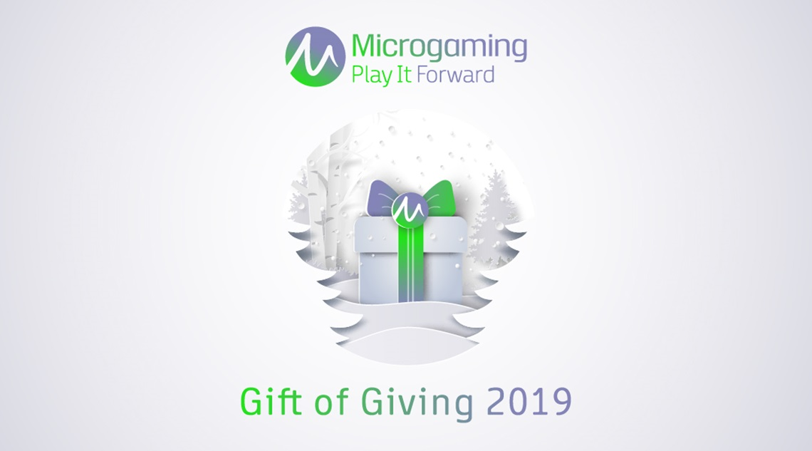 Microgaming's seventh annual Gift of Giving campaign brings total donations to £210,000