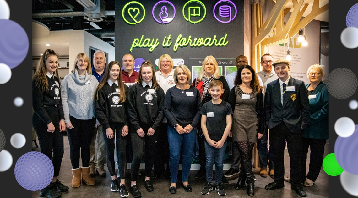 Staff-led charitable initiative set up under Microgaming PlayItForward celebrates second year anniversary